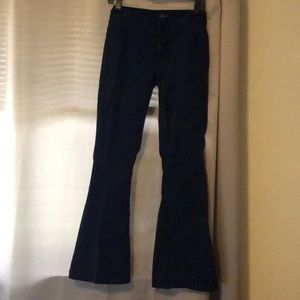 American Eagle Outfitters Pants - AEO artist stretch Navy pants
